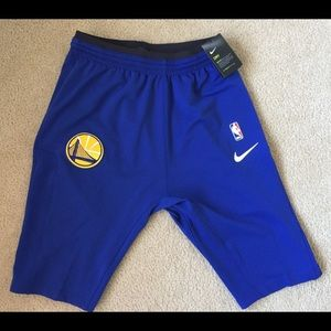 Golden State Warriors Nike New Authentic Shorts